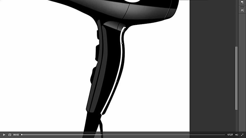 15把缝线复制一层移动到图示位置素材部分锚点修改描边粗细,执行高斯模糊效果如图示.jpg