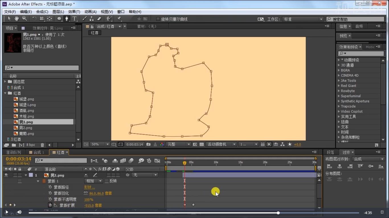 7.同样的方法做出其他素材动画效果,参数如图示;.jpg
