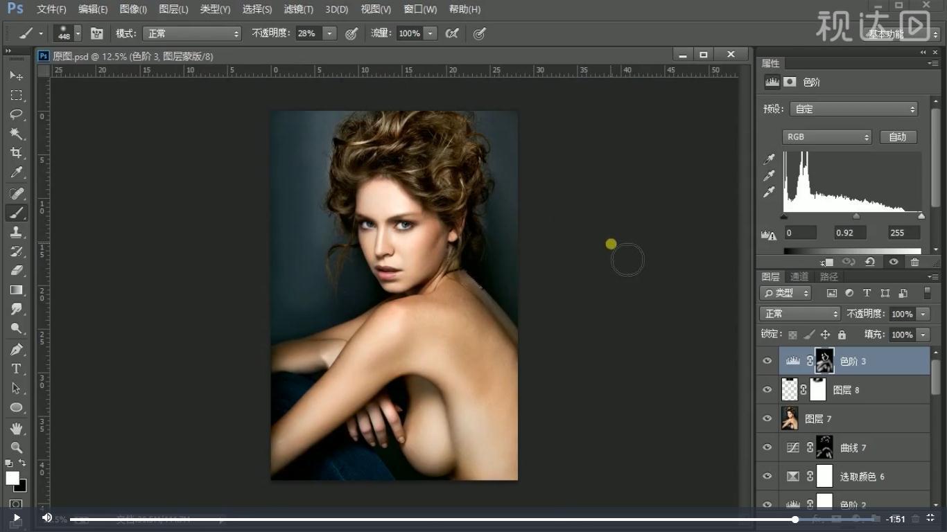 18添加色价调整图层并按第1步方法操作,再添加可选颜色调整图层,参数如图示.jpg
