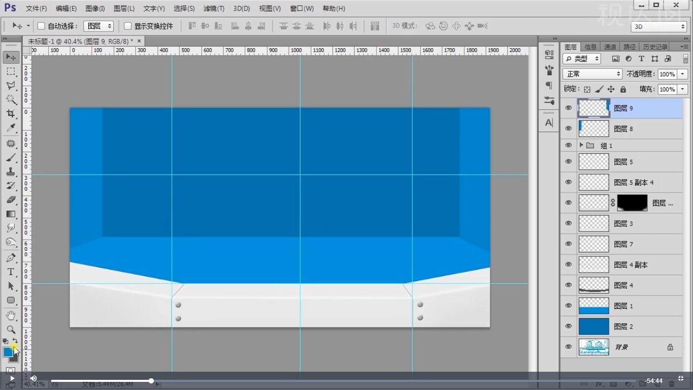 6按第2步方法操作,复制用曲线工具压深或调亮,创建图层蒙版用画笔擦拭,效果如图示.jpg