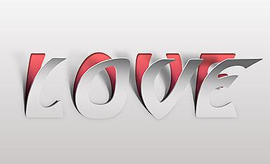 ps创意可爱立体字体设计视频教程