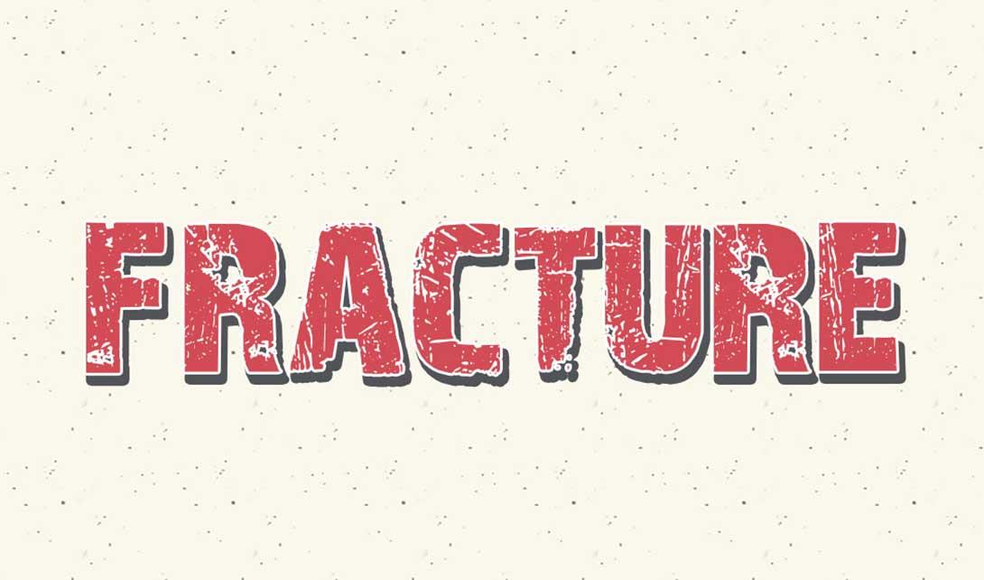 PS破裂字效字体设计  fracture视频教程
