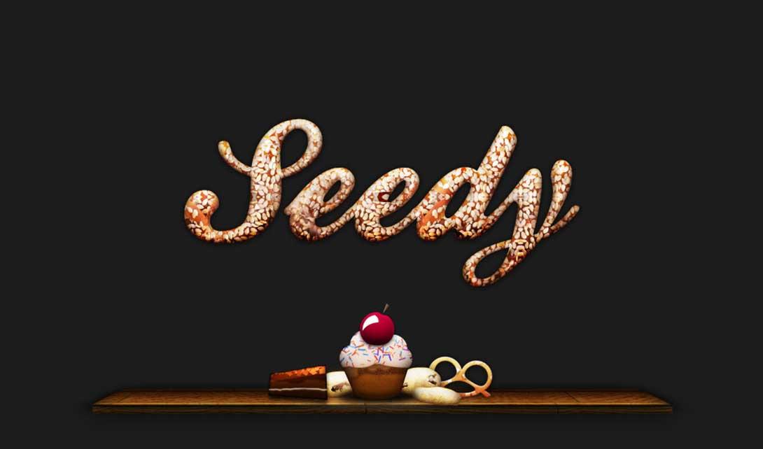 PS饼干字效设计  seedy视频教程