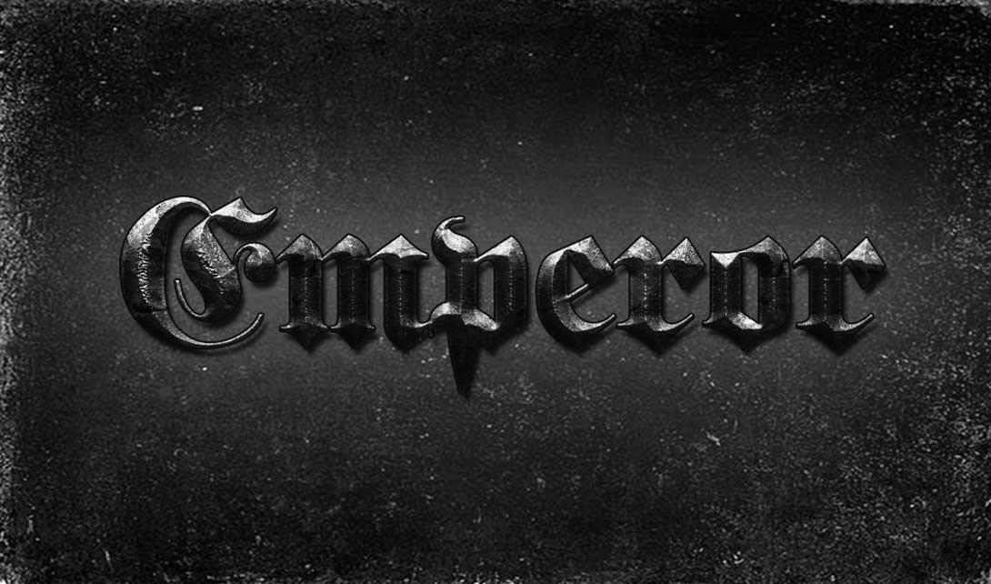 ps黑色石头效果字体设计