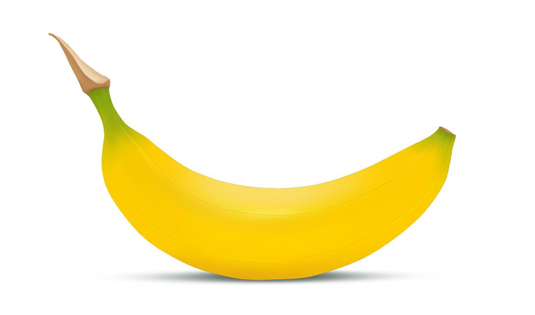 sai手绘香蕉