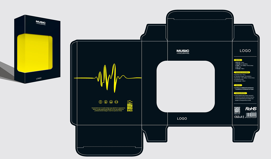 标签:   ai设计    包装设计    耳机包装设计      纸盒包装    创意