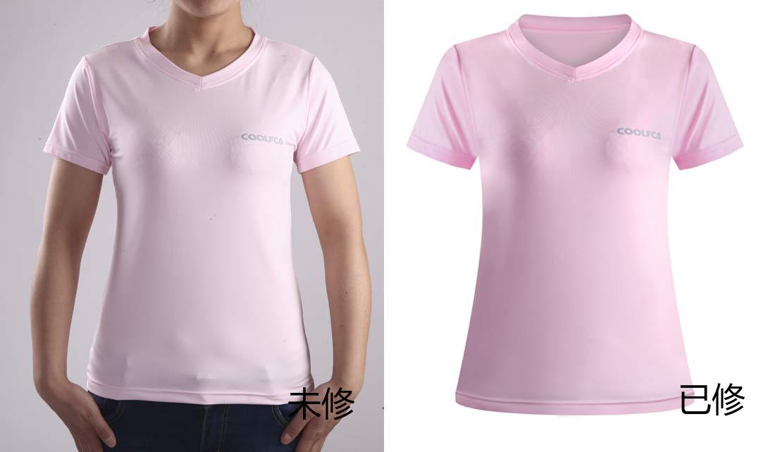 PS女装T恤3D立体衣服精修视频教程