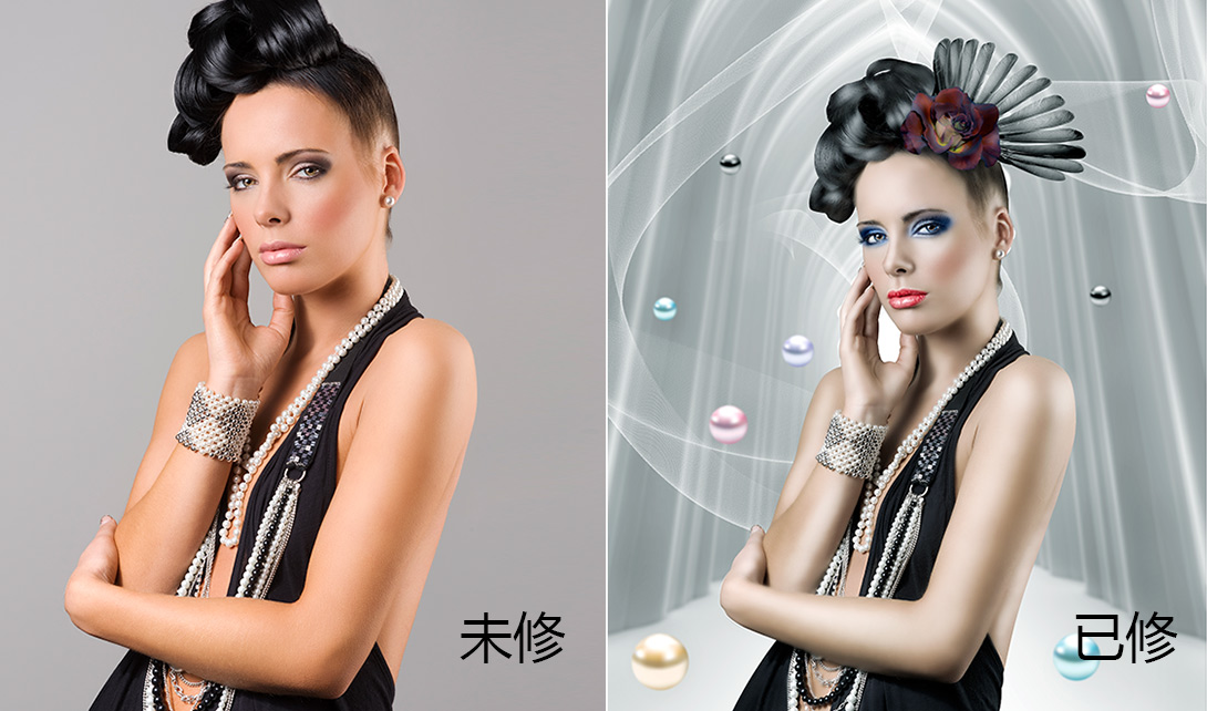 PS人像皮肤艺术美妆上妆化妆效果精修案例视频教程