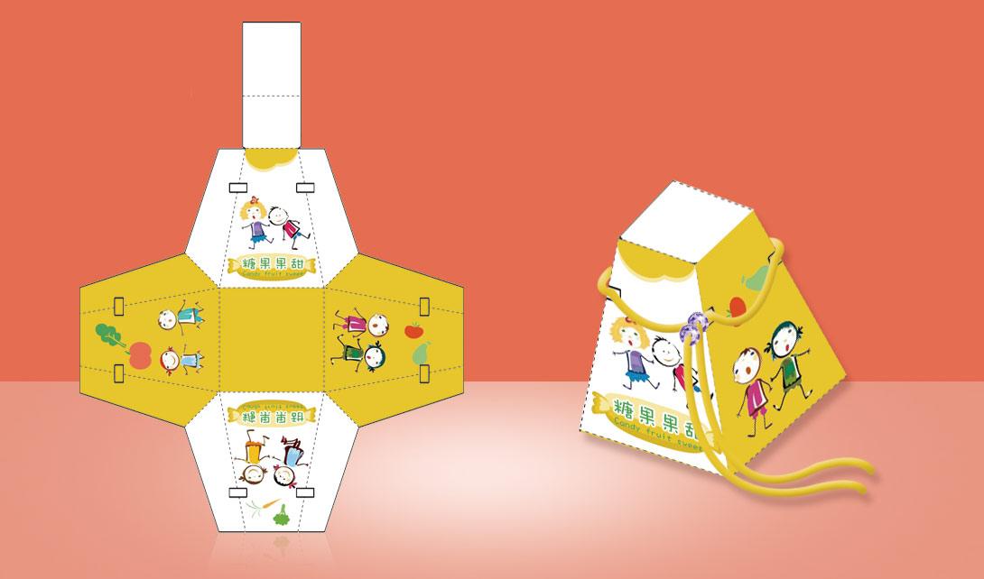 ps糖果包装盒制作_综合设计_90设计视频教程库