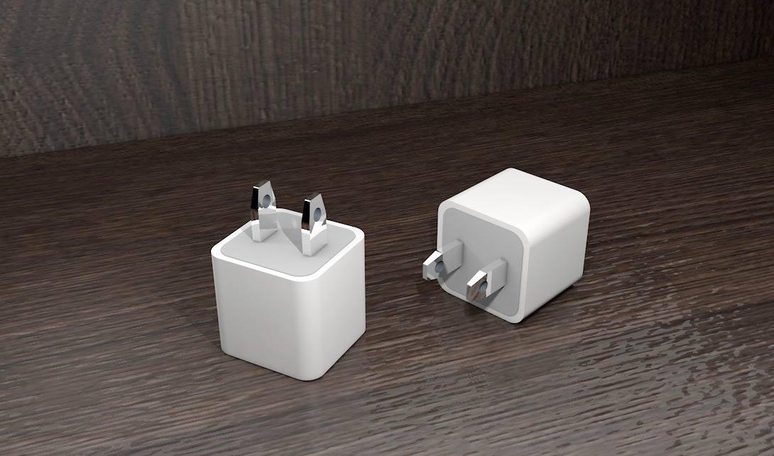 C4D充电头建模渲染视频教程