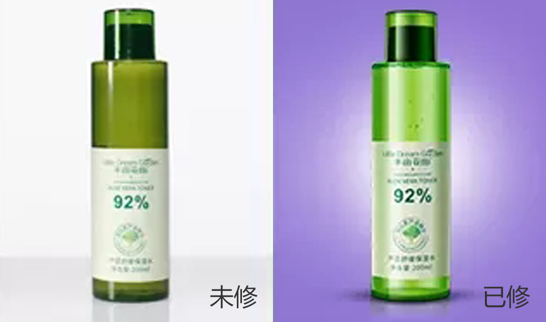 第三课:瓶身与水素材结合精修部分_产品精修_90设计