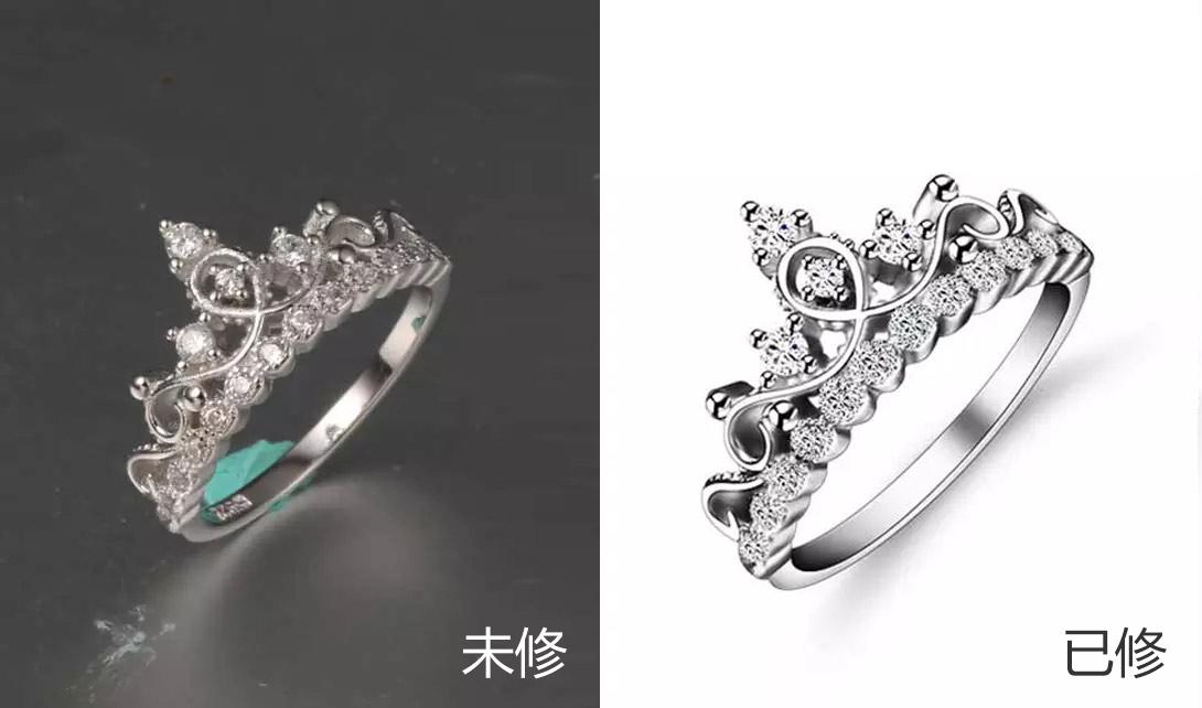 PS钻石戒指精修视频教程