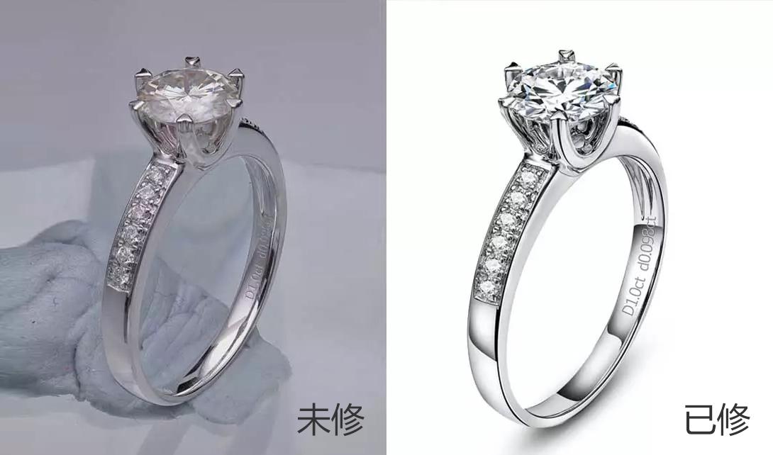 ps钻石戒指精修