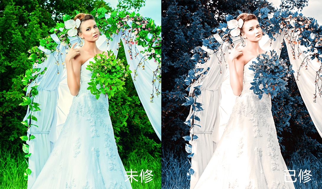 ps小技巧    ps教程    图片调色      婚纱照 视频相关素材下载
