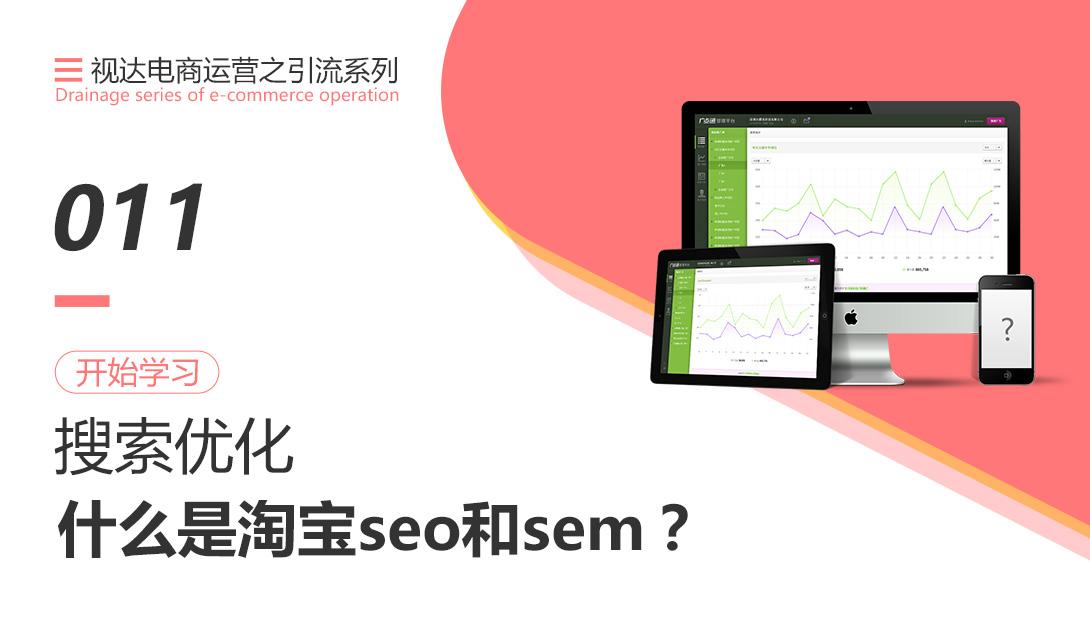 什么是淘宝seo和sem?视频教程