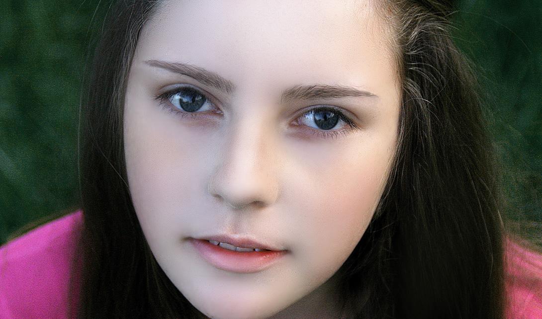 PS美女照片去斑人像面部精修瘦脸视频教程