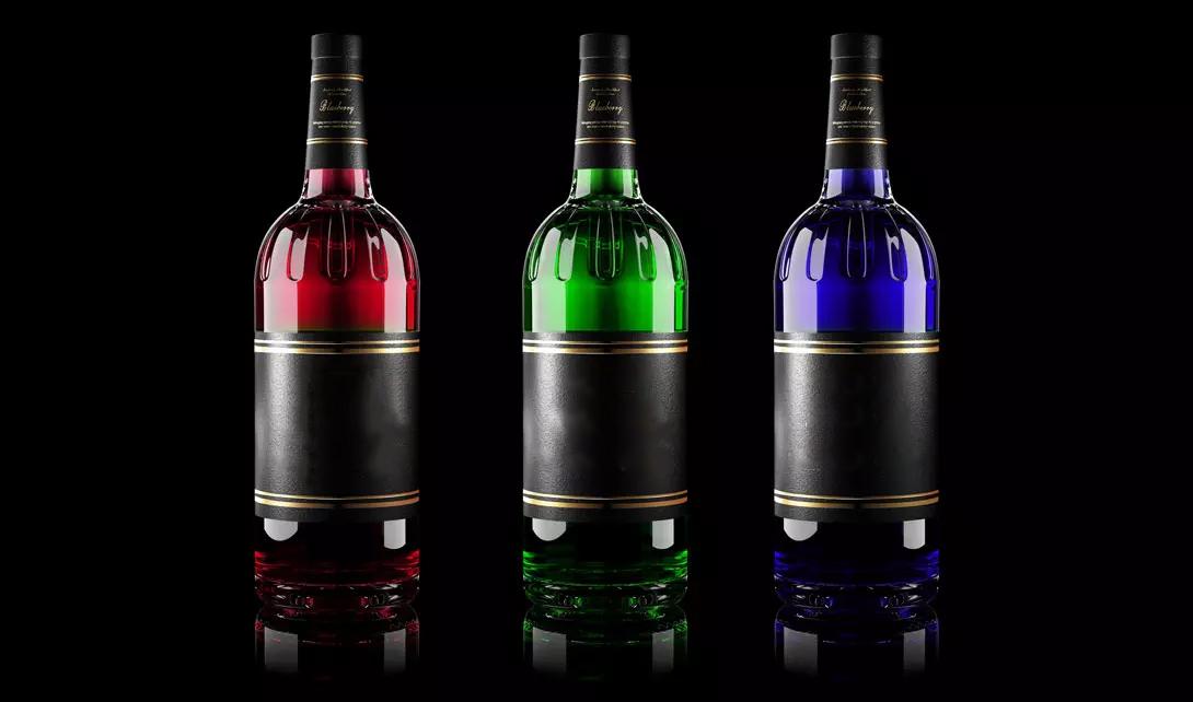 C4D透明酒瓶建模视频教程