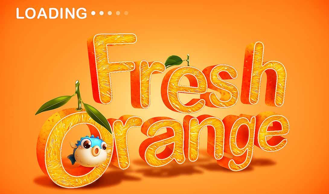 C4D水果字体设计案列视频教程