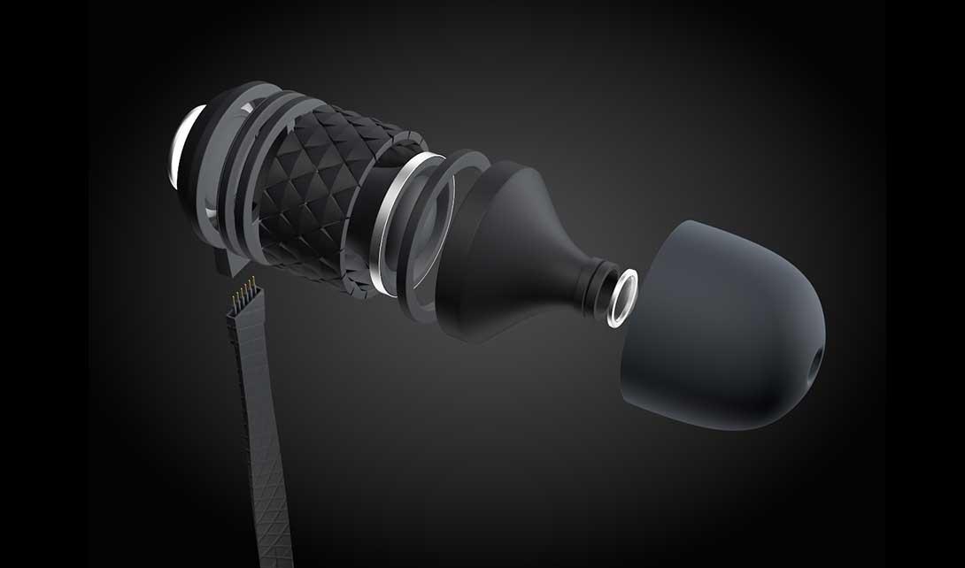 C4D耳机分解图制作视频教程