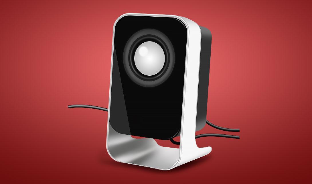 PS家用客厅音箱产品精修视频教程