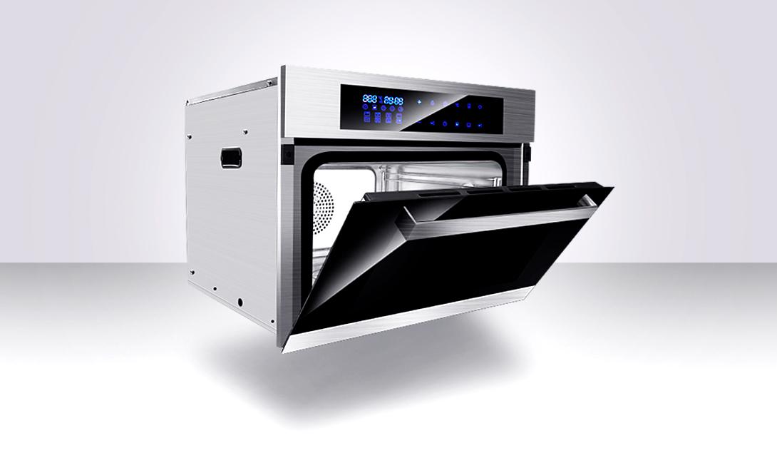 PS厨具电烤箱精修视频教程