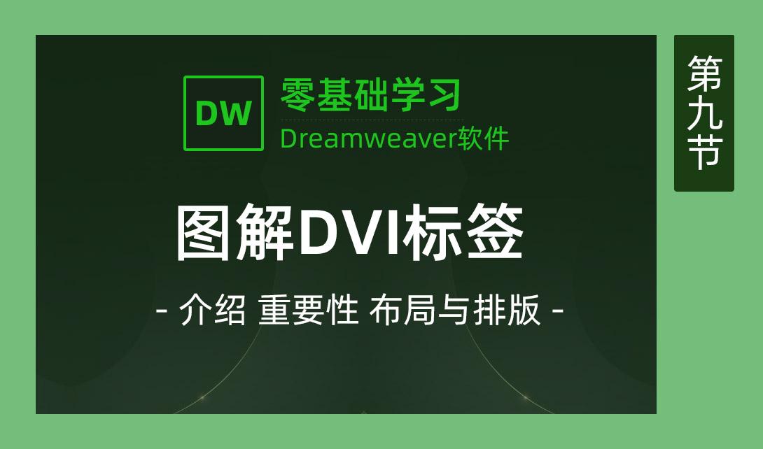 DW2017-图解DVI标签视频教程